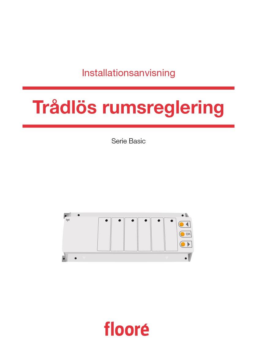 Installationsanvisning Trådlös Rumsreglering