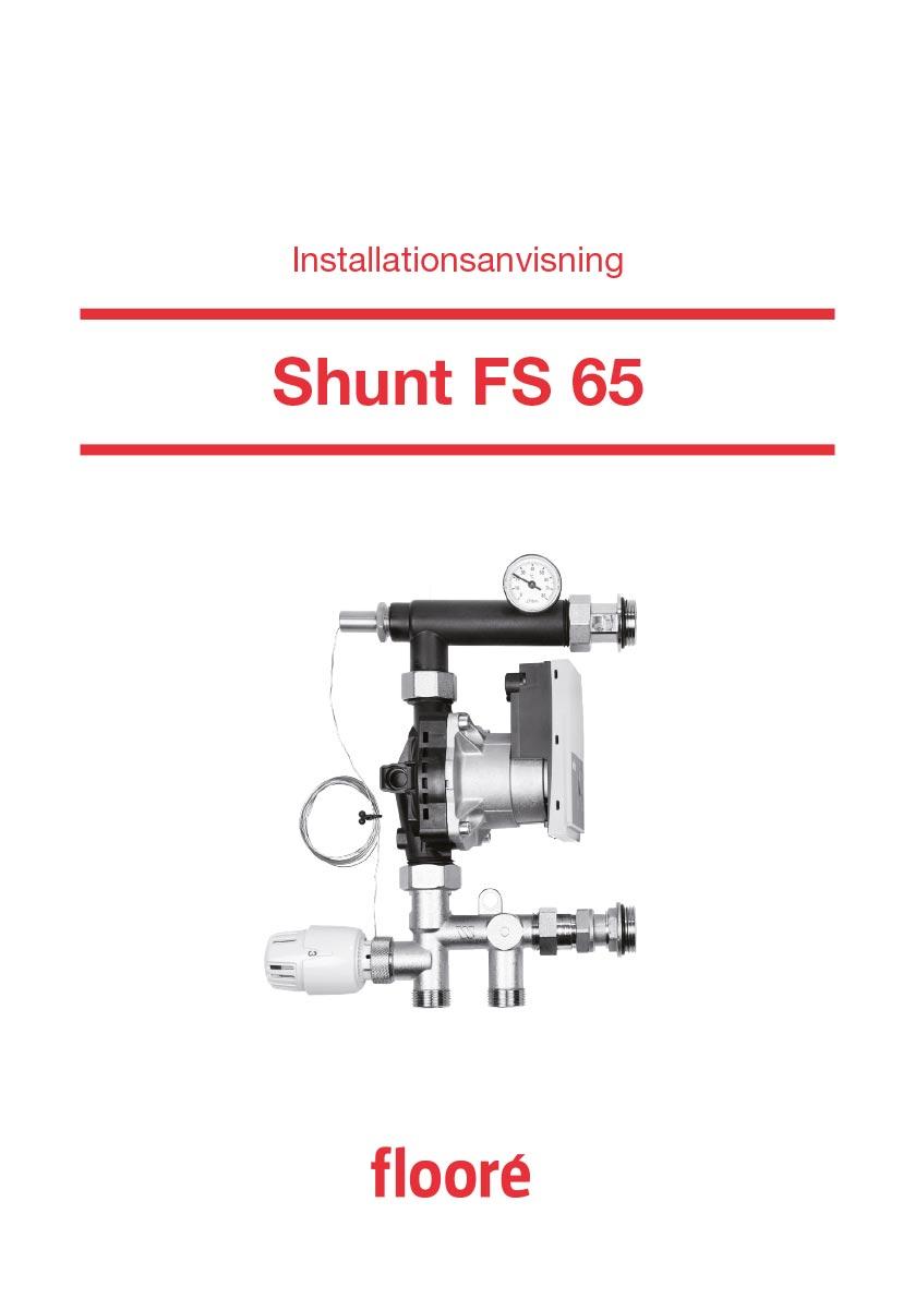 Installationsanvisning Shunt FS 65, Art nr 413 66