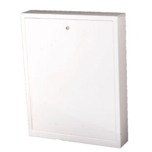 Manifold cabinet for surface mounting