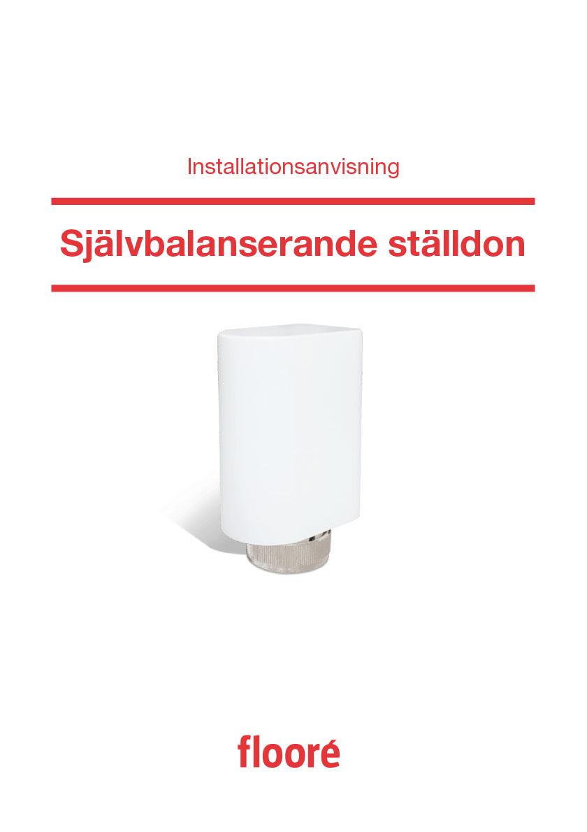Installationsanvisning Självbalanserande ställdon